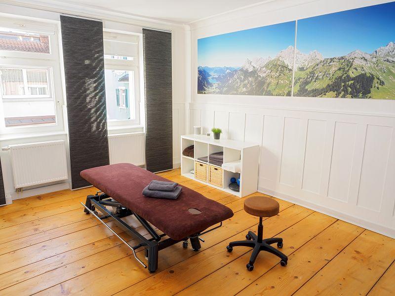Ostheopathie Donaueschingen - Behandlungsraum